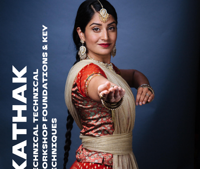 Technical Workshop – Kathak Foundations – Sunday 12th Sept 10:30am